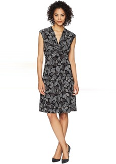 Twist Front Knit Dress