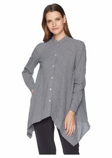 Anne Klein Uneven Hem Shirt