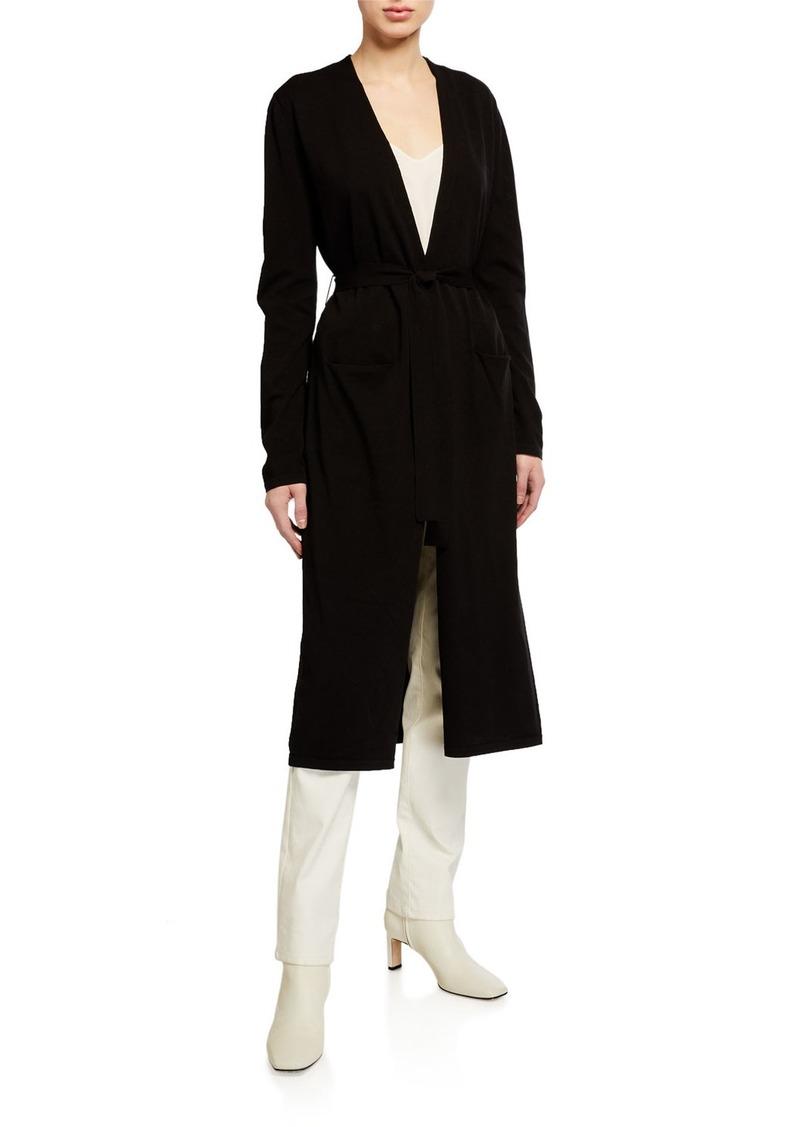 Anne Klein Waist-Tie Cardigan