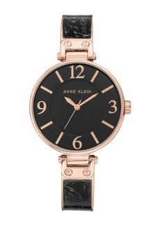 Anne Klein Women's Analog Quartz Bangle Watch, 34mm