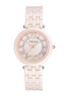 Women's Anne Klein Ceramic Bracelet Watch, 34mm