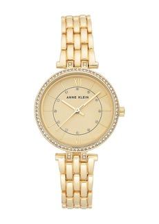 Anne Klein Women's Crystal Bracelet Watch, 32mm