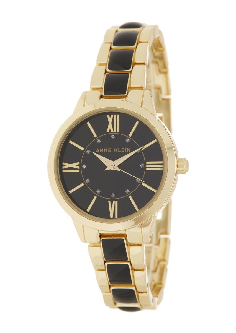 Anne Klein Women's Crystal Bracelet Watch