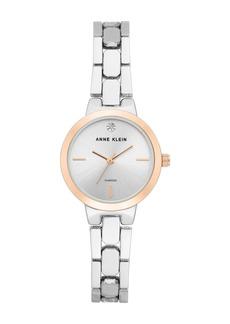 Anne Klein Women's Diamond Dial Bracelet Watch, 26mm