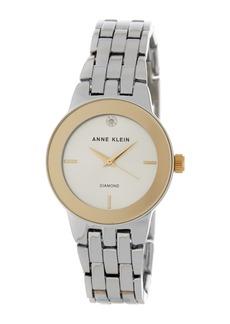 Anne Klein Women's Diamond Dial Bracelet Watch, 30mm - 0.005 ctw