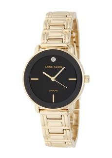 Anne Klein Women's Diamond Dial Bracelet Watch, 32mm
