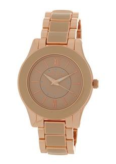 Anne Klein Women's Embellished Dial Bracelet Watch, 35mm