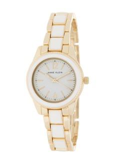 Anne Klein Women's Enamel Bracelet Watch