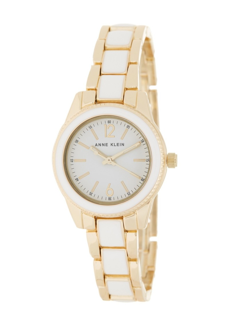 Anne Klein Women's Enamel Bracelet Watch