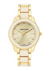 Anne Klein Women's Resin Bracelet Watch, 37.5mm