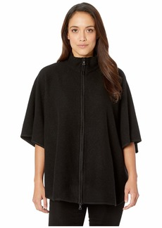 Anne Klein Zip Front Cape