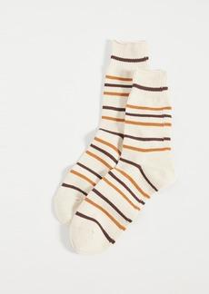 Anonymous Ism Re Cotton Stripe 3q Socks