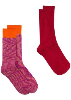 Anonymous Ism multi pack knitted socks
