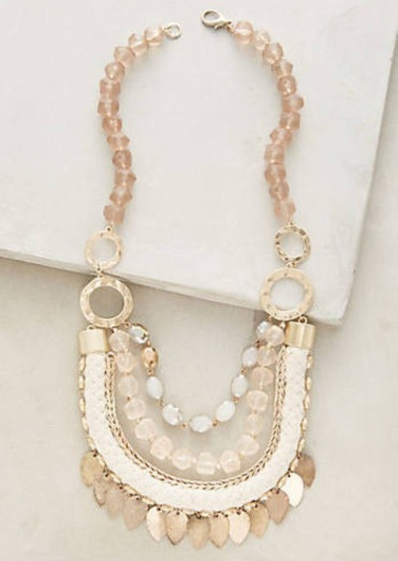 Anthropologie                          Halliday Layer Necklace