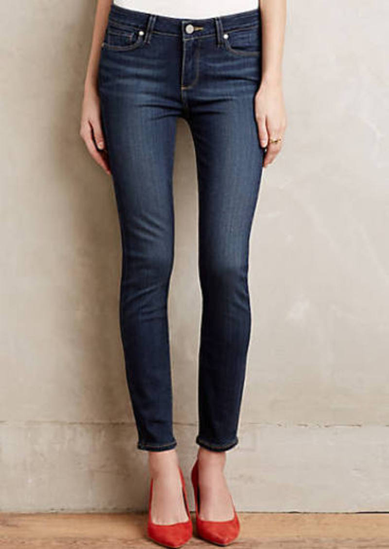Anthropologie                          Paige Verdugo Ankle Skinny Jeans