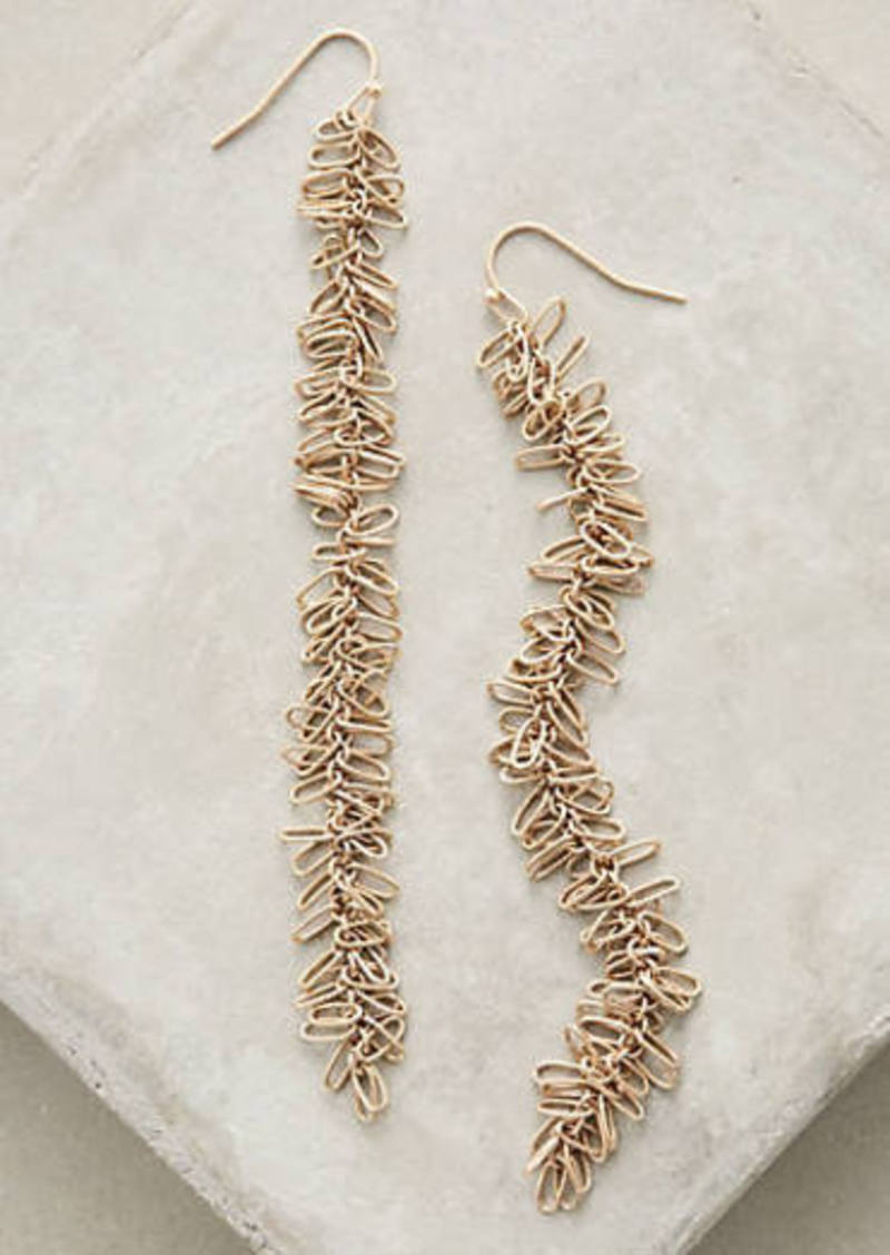 Anthropologie                          Seagrass Duster Earrings