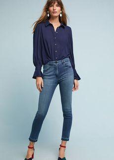 3x1 NYC W3 Higher Ground Zipper Skinny High-Rise Jeans