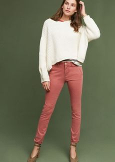 Anthropologie Abroad Sateen Skinny Trousers