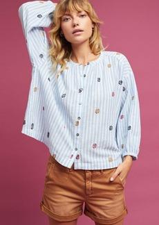 Adela Embroidered Buttondown