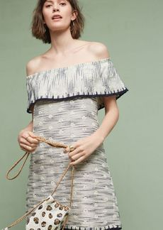 Anthropologie Ademia Off-The-Shoulder Dress