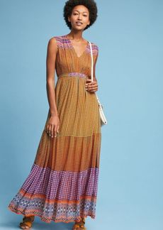 Aelyn Embroidered Maxi Dress