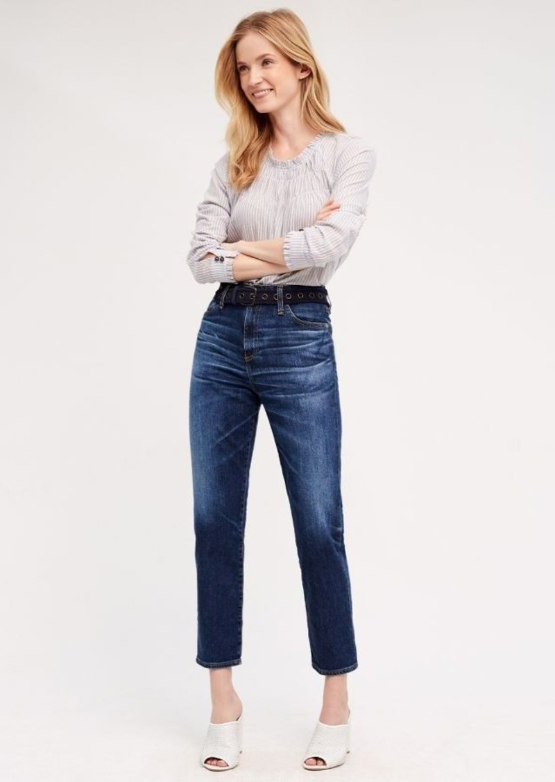 Anthropologie AG Phoebe Ultra High-Rise Tapered Jeans