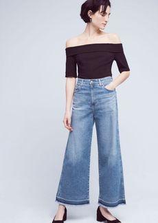 AG Yvette High-Rise Crop Jeans
