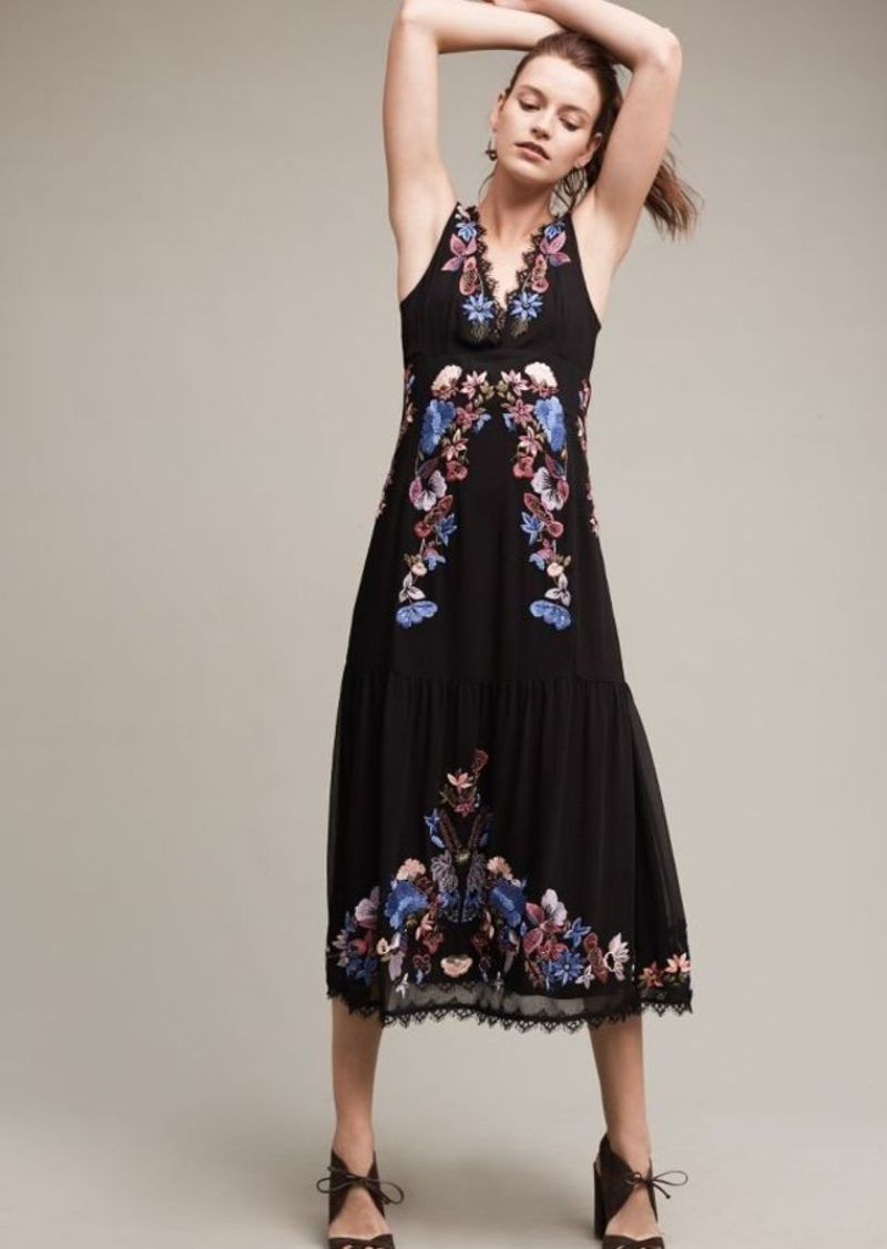 Anthropologie Agra Midi Dress