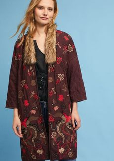 Aiza Embroidered Coat