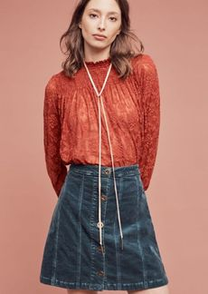 Anthropologie Amanna Lace Top