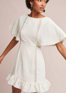 Amira Flutter-Sleeve Dress