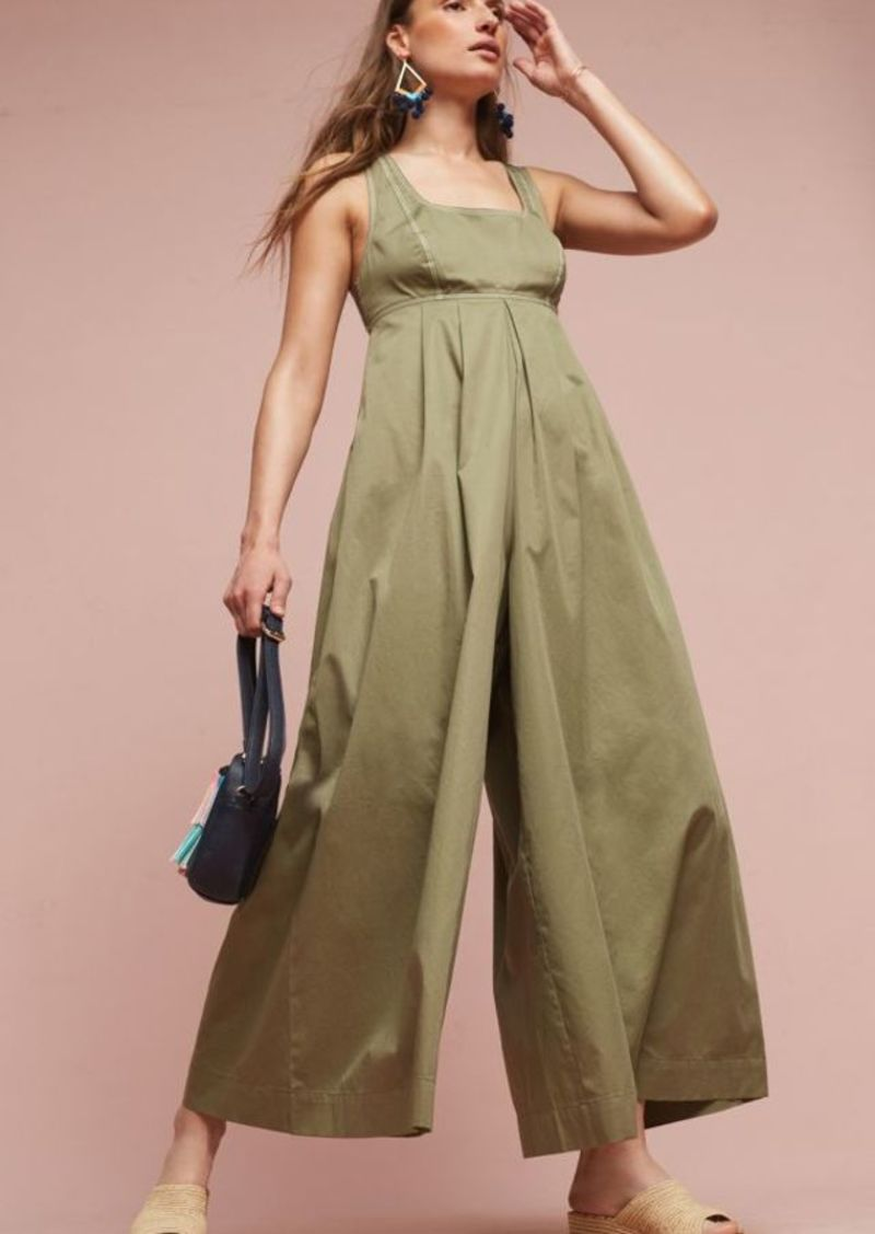 Anthropologie Amity Wide-Leg Jumpsuit