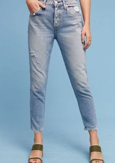 AMO Ace High-Rise Relaxed Cropped Jeans
