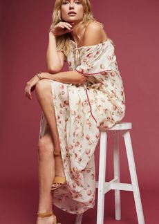 Anthropologie Amya Floral Maxi Dress