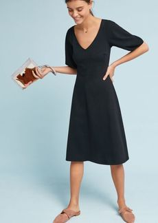 Andalusia Balloon-Sleeved Dress