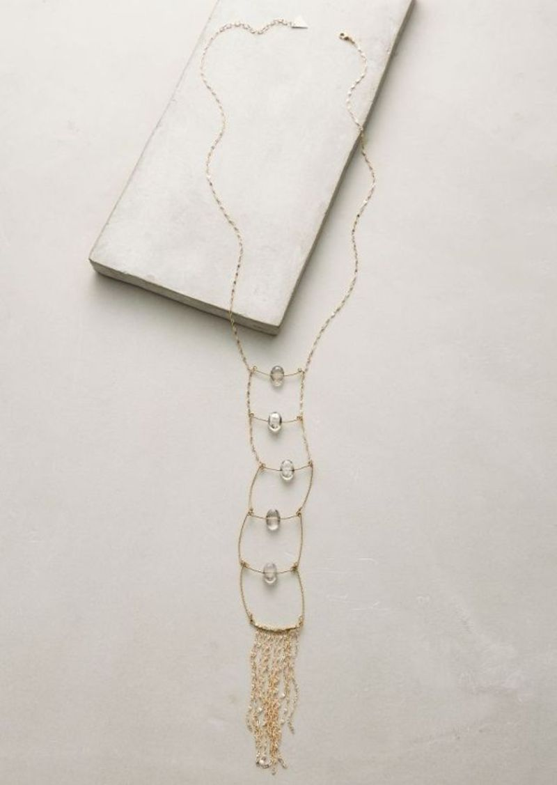 Anthropologie Anjali Ladder Necklace