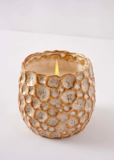 Anthropologie Home Small Honeycomb Scented Candle