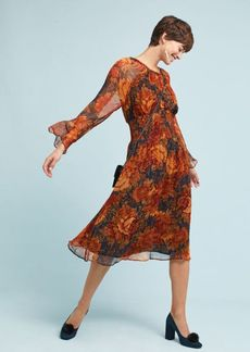 Antik Batik Floral Midi Dress