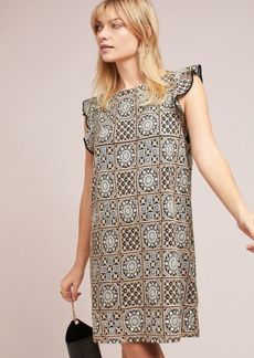 Antik Batik Petite Metallic Tile Dress