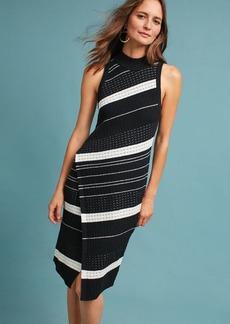Anthropologie Asymmetrical Turtleneck Dress