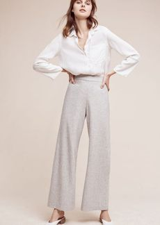 Anthropologie Audrey Ultra High-Rise Petite Trousers