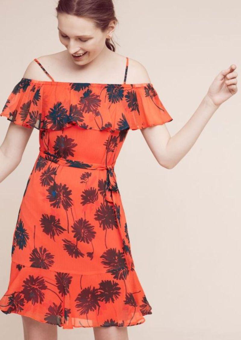 Anthropologie Audrina Off-The-Shoulder Dress