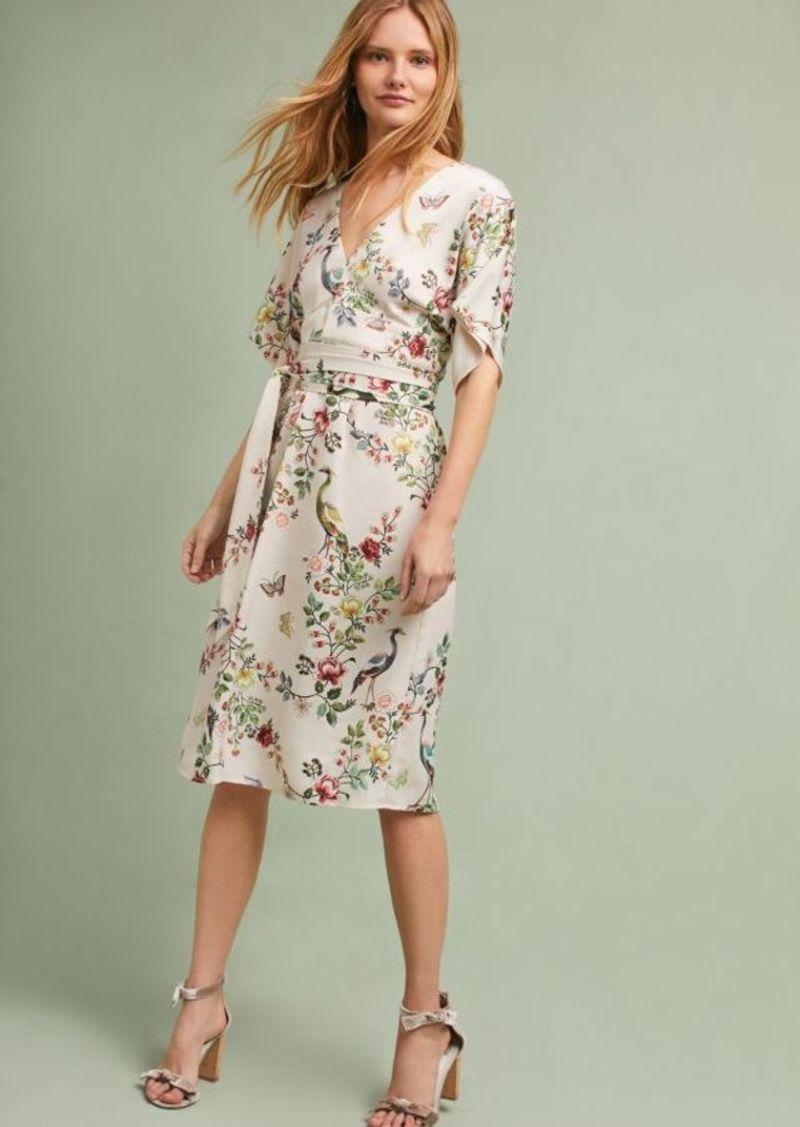 Anthropologie Avian Kimono Midi Dress | Dresses