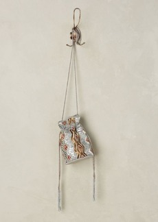 Anthropologie Beaded Modesto Bucket Pouch