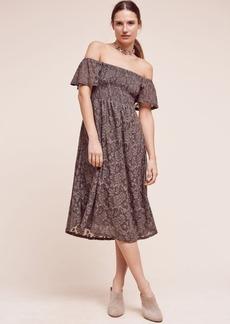 Anthropologie Bellamy Off-The-Shoulder Dress