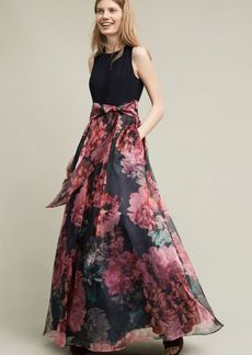 Anthropologie Blooming Bow Dress