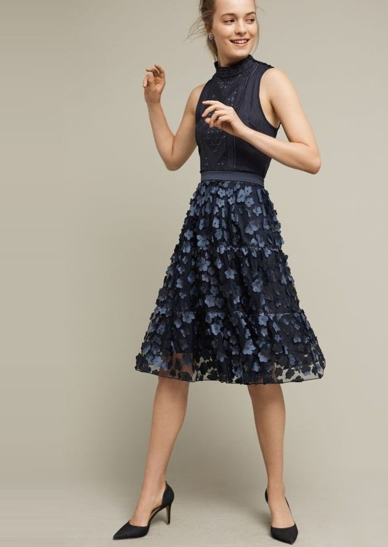Anthropologie Blue Buttercup Midi Skirt | Skirts - Shop It To Me