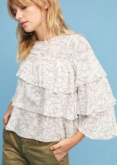 Anthropologie Bobby Tiered Blouse