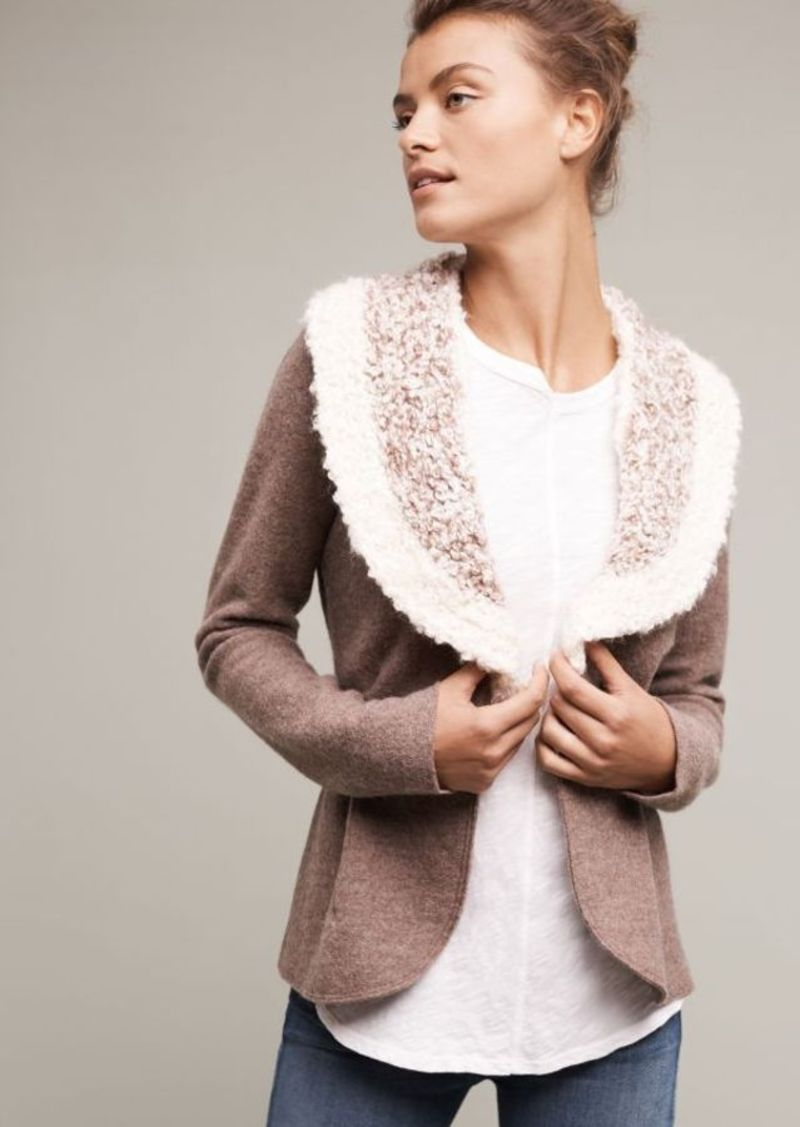 Anthropologie Bourgogne Wool Jacket
