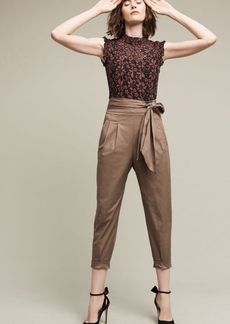 Anthropologie Bowtied Joggers